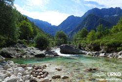 Lepena Slowenien