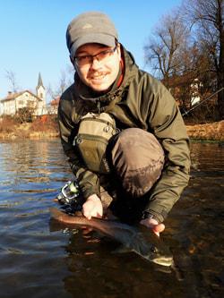 Fliegenfischer Guide Marco Barišić