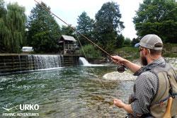 fliegenfischen Slowenien