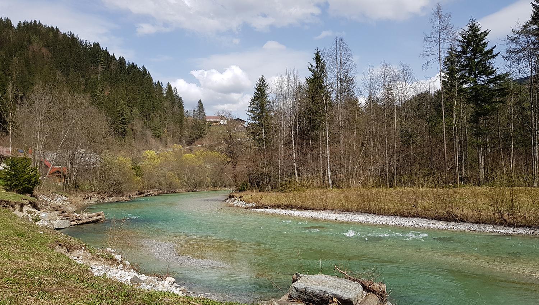 Savinja Slowenien